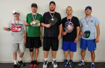 5.0 Men's Doubles Silver, Gold, Bronze