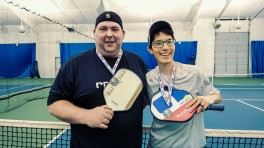 Jeff and Derek Silver Medalists
